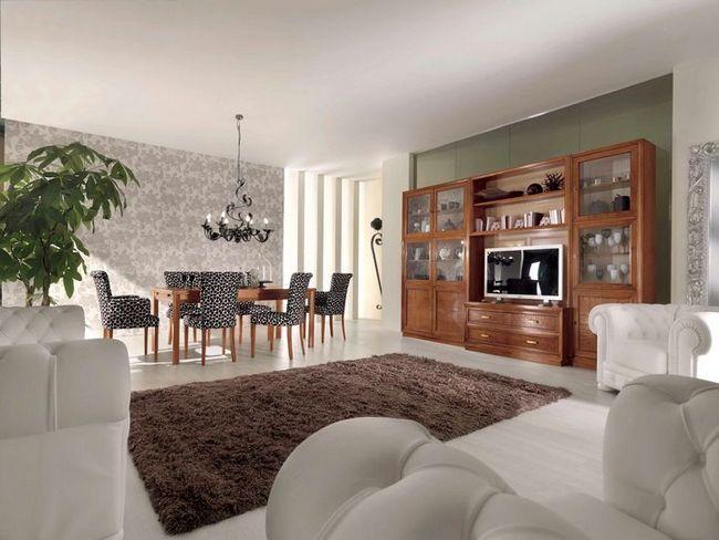 dnevna soba v klasičnem slogu slika 25