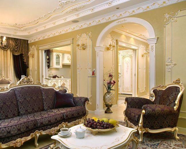 dnevna soba v klasičnem slogu slika 24