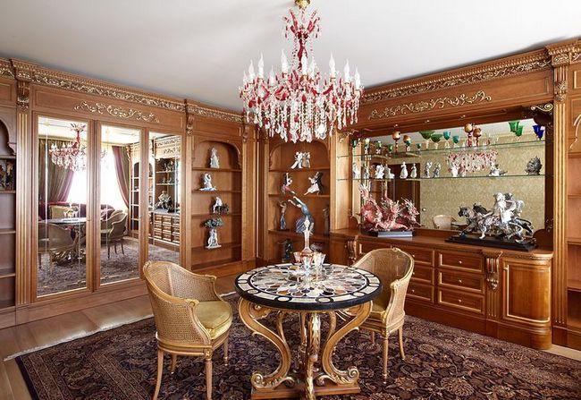 dnevna soba v klasičnem slogu slika 23