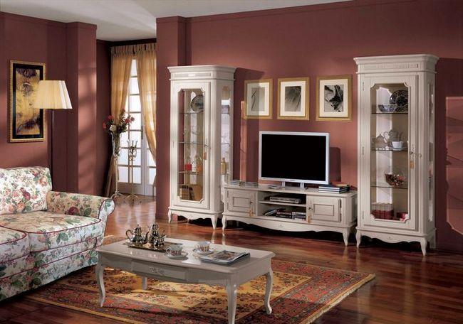 dnevna soba v klasičnem slogu slika 22