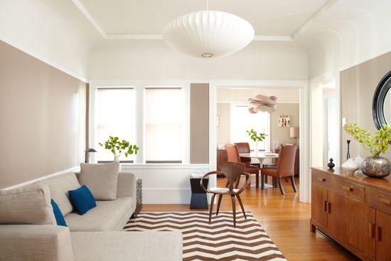 Oblikovanje dnevna soba hi-tech stil