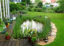 Готовим садовый пруд к зиме