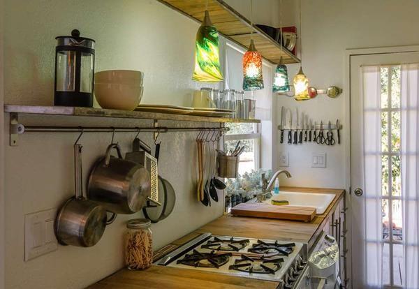 Dekor Ideje za majhno kuhinjo