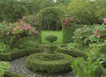 Идеи для сада своими руками: лабиринт
