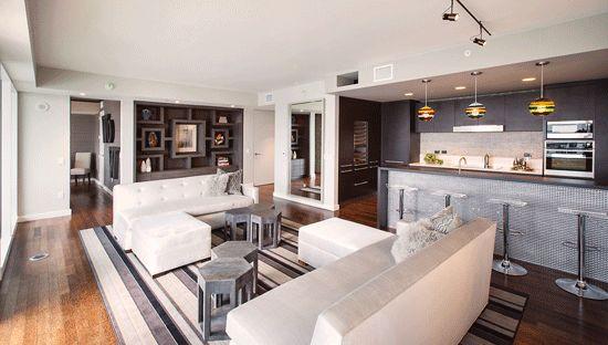 luksuznega Hollywood-penthouse;