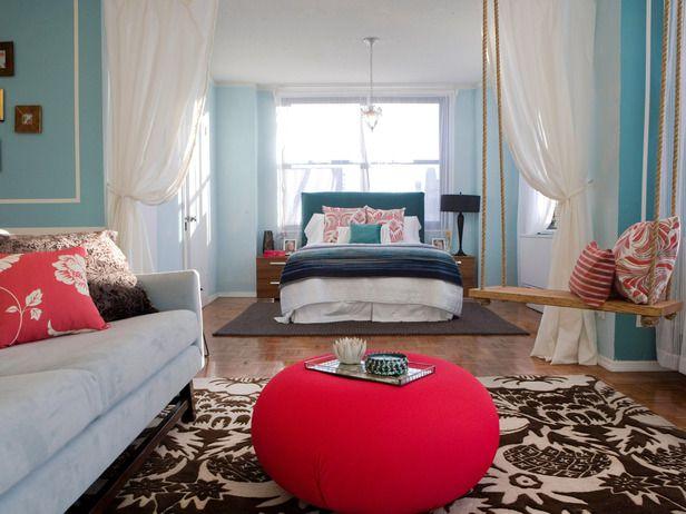 a-spalnica dnevna soba