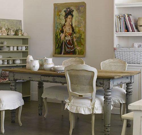 Notranjost v vintage stilu