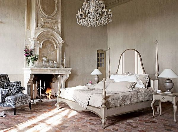 spalnica v starinskem stilu