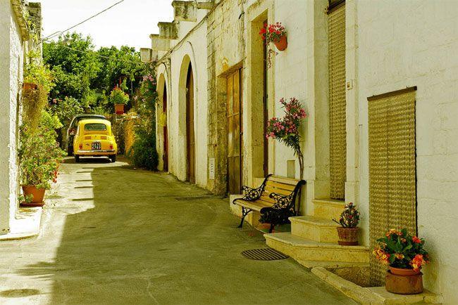 ulici v Italiji