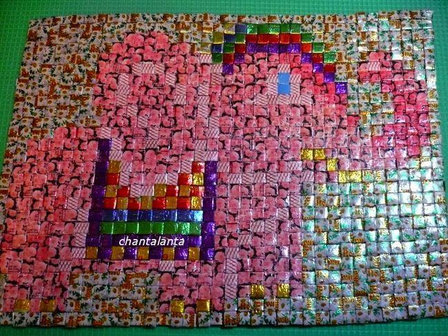 Мозаика из жгутиков