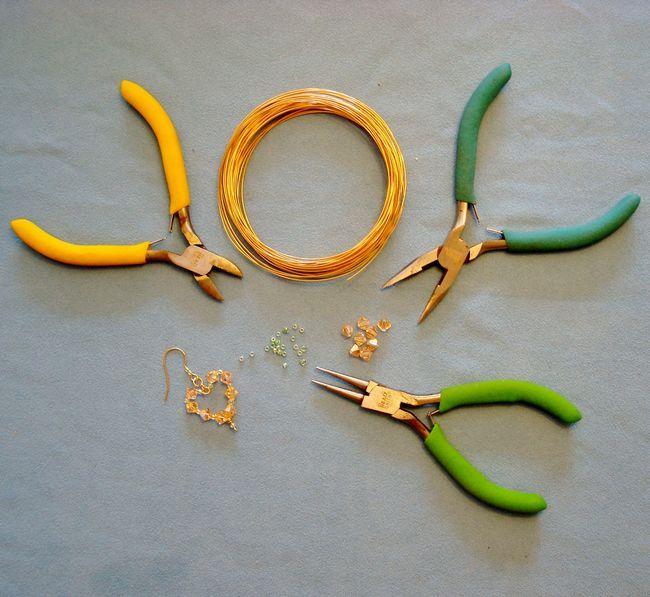 Материалы для изготовления украшений из проволоки