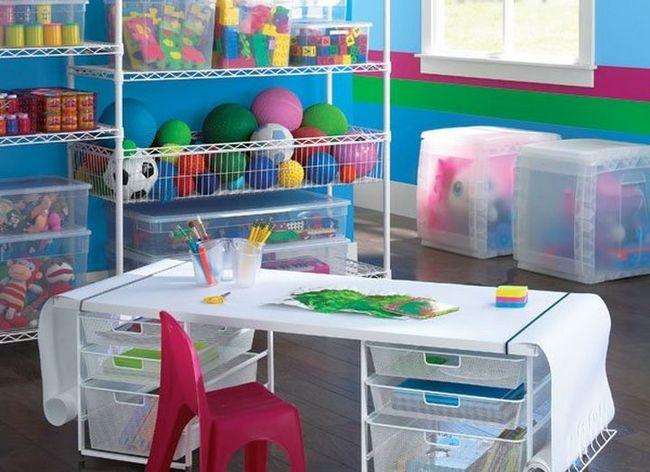 Uporaba plastičnih posodah za otroške sobe