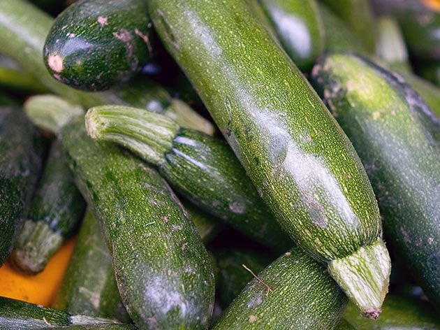 Зеленые кабачки