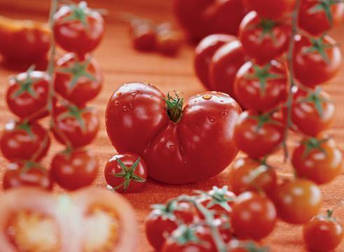 Paradižnik, zrelo sadje