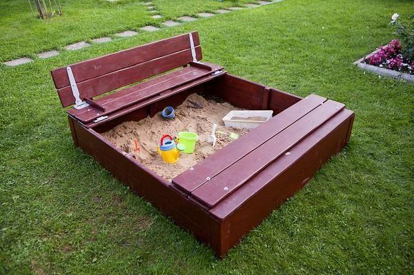 Poklopac sandbox jedara