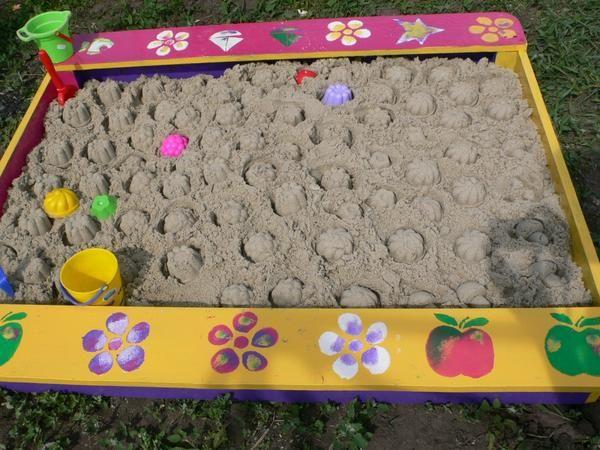 bojanje sandbox
