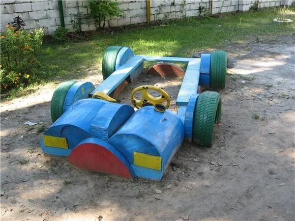 Sandbox u obliku automobila