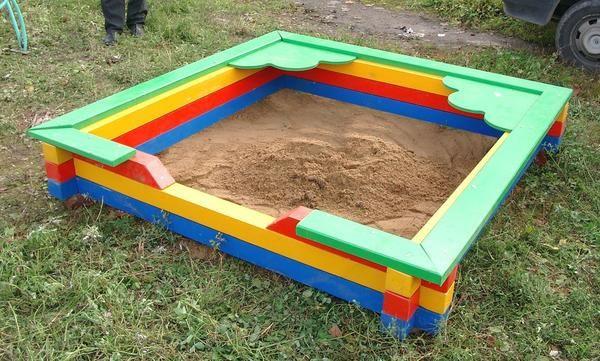 Sandbox boji barova