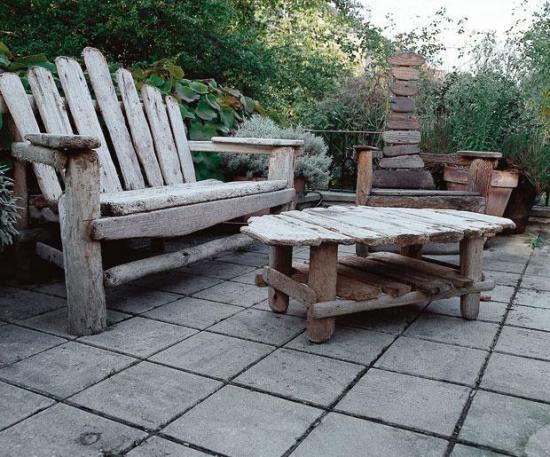 Как правильно изготовить мебель для сада своими руками