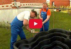 Как сделать пруд на даче видео