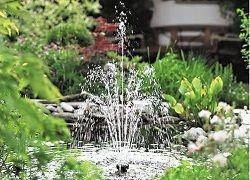 Как соорудить фонтан своими руками в саду?