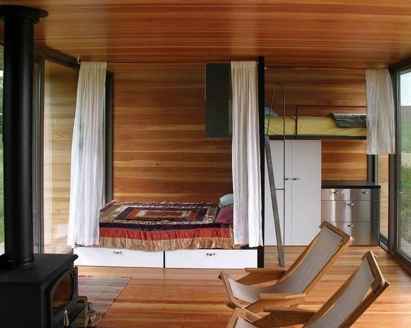 Spalnica z loft posteljo