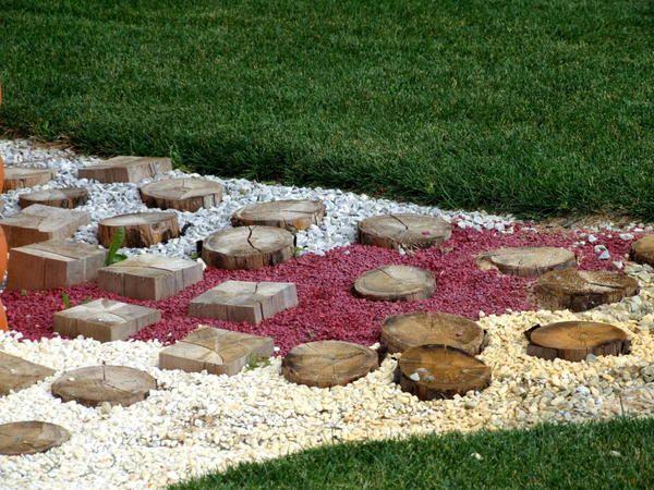 Lahko združite kamenje in les žago izrežite