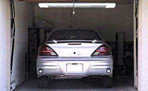 Infrardeči grelec v garaži