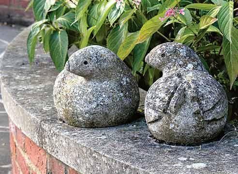 Podatki Stone ptic, vrt Sculptra