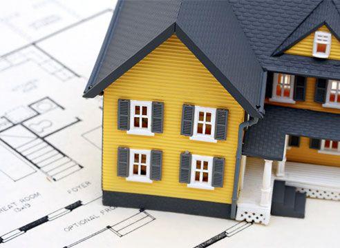 Postavitev hiša okvir