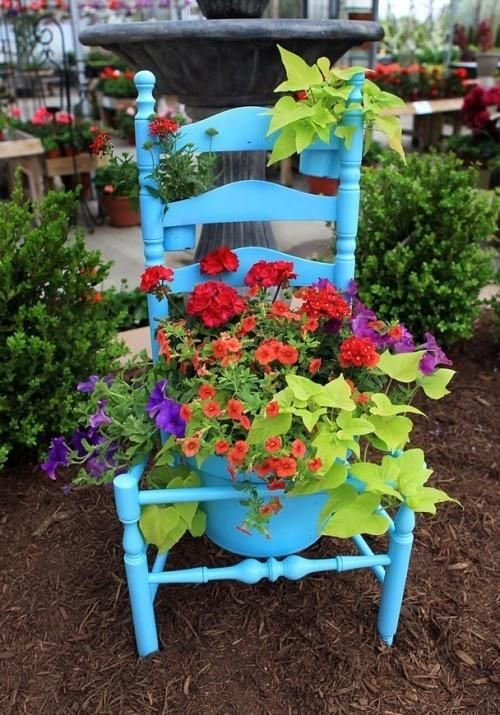 Flowerbed-stol