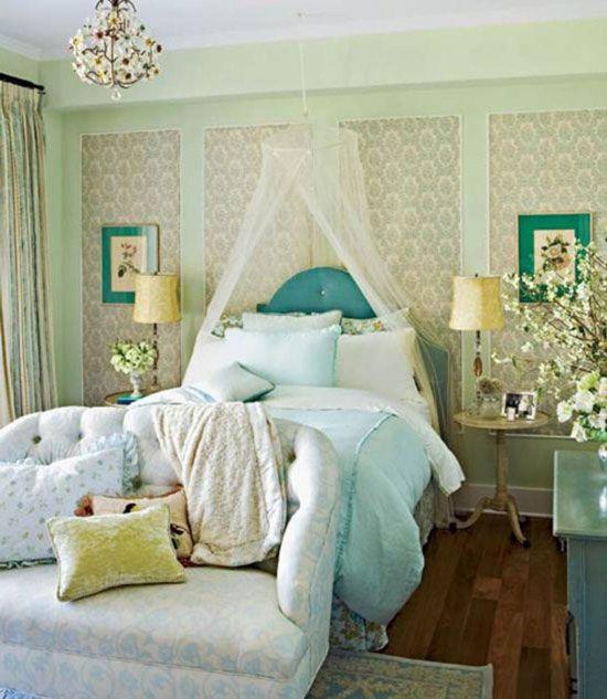 Kombinirani ozadje v notranjosti spalnico