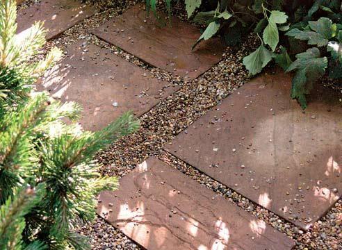 Tirni plošče iz vrta in gramoza