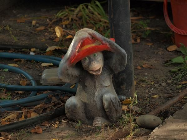 фигурка из камня &quot-обезьяна