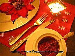 Рождественский и новогодний стол