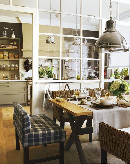 Kuhinja design v podeželskem slogu