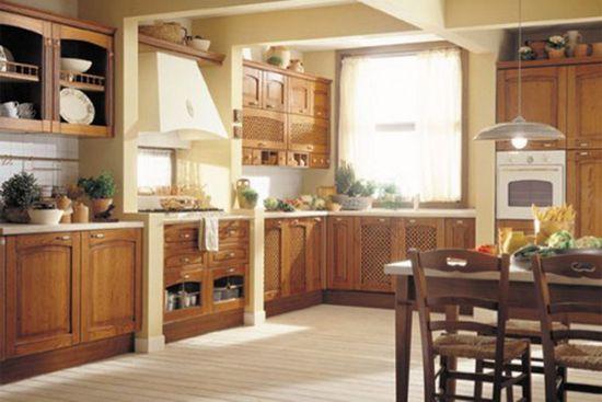 Kuhinja v stilu država fotografiji je