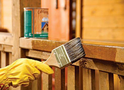 Posebna zaščitna oprema za lesene zgradbe