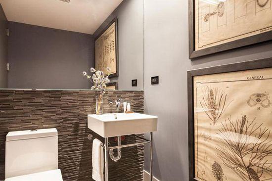 Dodatki za kopalnico loft-style