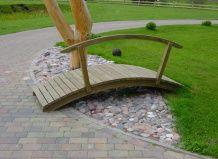 Материалы для садовых мостиков