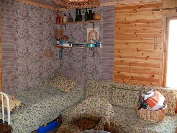 Umplute panouri orizontale și tapiserie pentru izolație