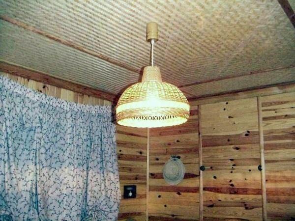 plafon de bambus