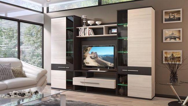modularno pohištvo za dnevno sobo fotografijo na
