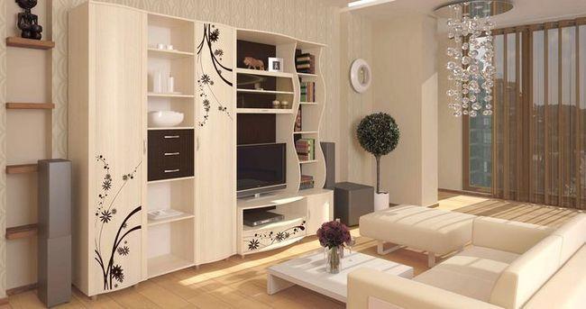 modularno pohištvo za dnevno sobo Foto 11
