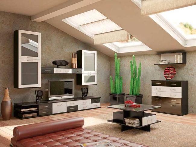 modularno pohištvo za dnevno sobo Foto 19