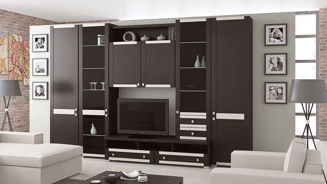 modularno pohištvo za dnevno sobo Foto 17