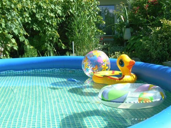 Надувные бассейны: выбор и использование