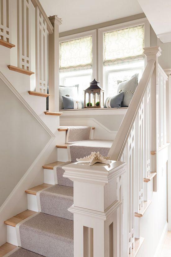 Stopnišče v vintage doma