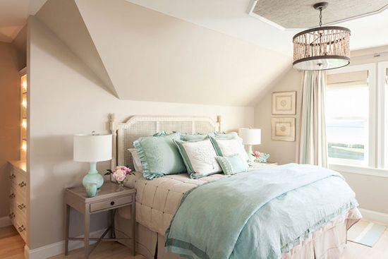 Notranja Možnost spalnica v mansardi