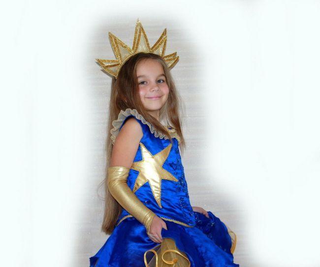 Новогодний костюм звездочки